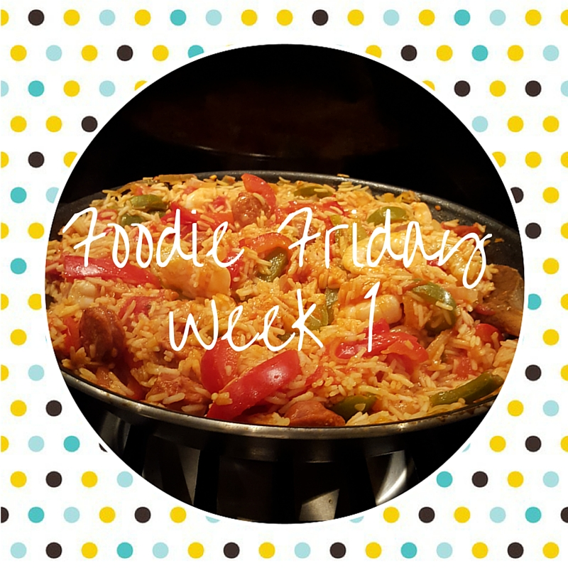Foodie Friday #1 – Spanish rice & prawn one pot dinner