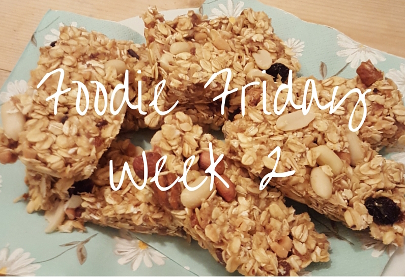 Foodie Friday #2 – Leftover Christmas Date & Nut Oat Bars