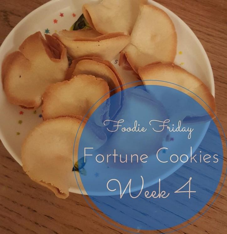 Foodie Friday #4 – Super Simple Fortune Cookies