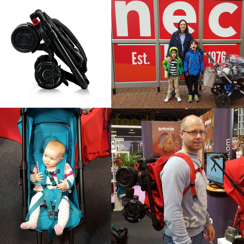 The Gadget Show Live 2016 featuring the Omnio Stroller