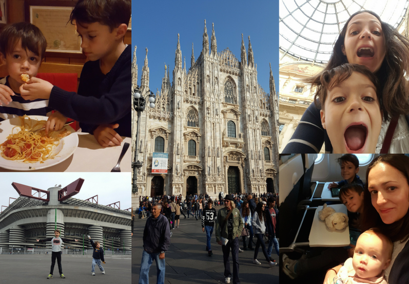 A Flying Visit to Milan with Kids