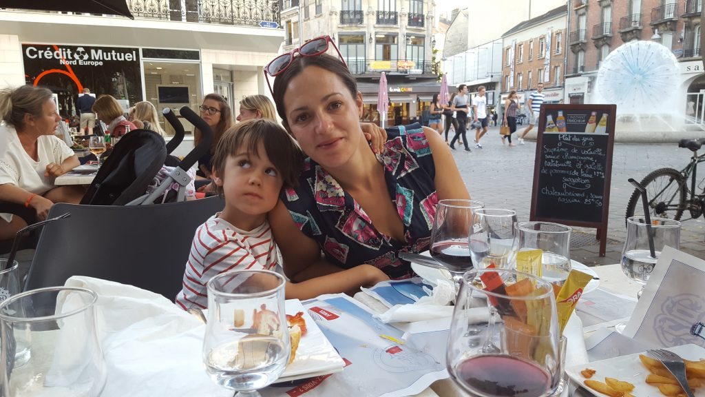 Reims with kids