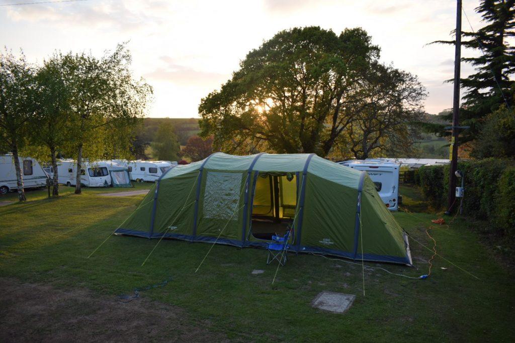 Camping at Andrewshayes Holiday Park