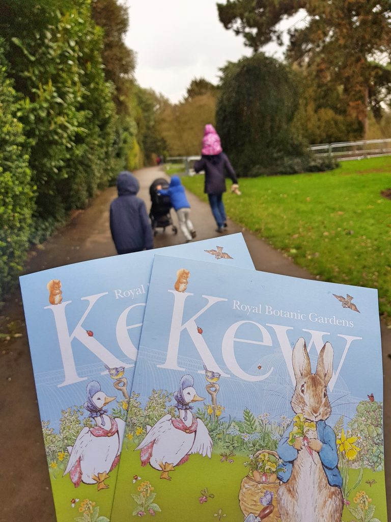 A Big Day Out With Peter Rabbit at Kew Gardens