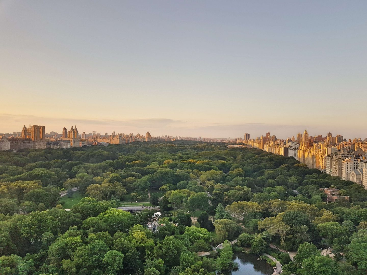 The Park Lane Hotel, New York: Park View vs. Partial Park View in pictures