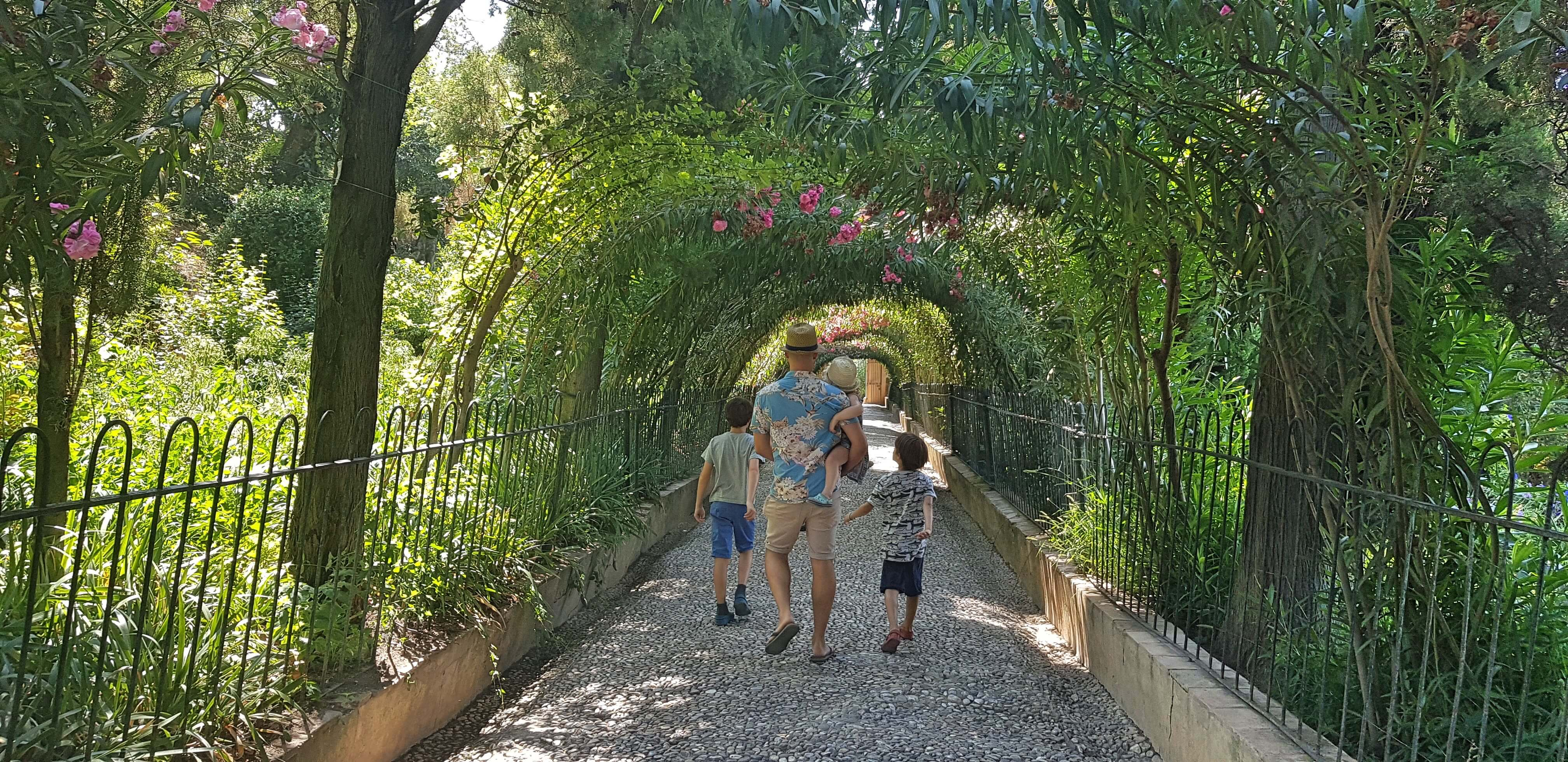 Alhambra with Kids