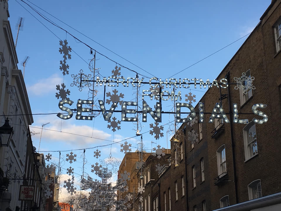 London Christmas lights 2018