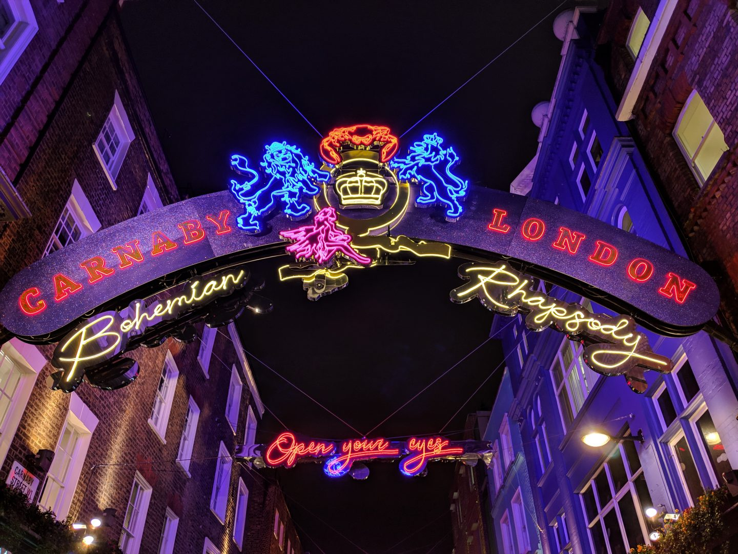 London Christmas Lights 2018: In Pictures