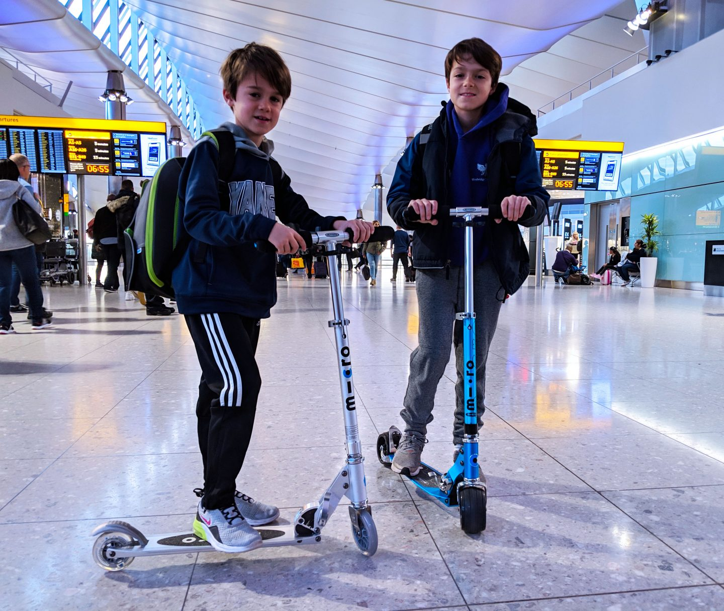 Can you take a Micro Scooter as hand luggage? We did! Here's how we got on.