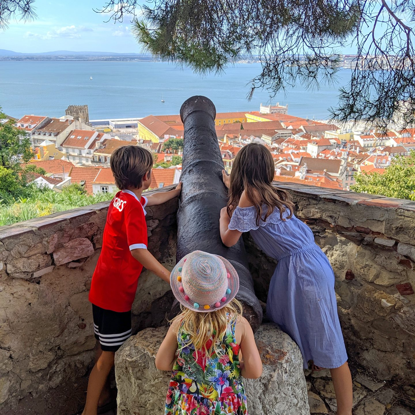 a weekend in Lisbon with kids